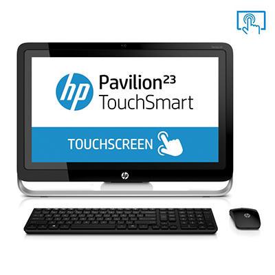 "HP Pavilion 23-H050 23"" Touch Desktop Computer, AMD A6-5200, 4GB Memory, 1TB Hard Drive"