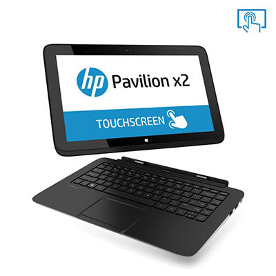 "HP Pavilion 13-p117cl 13.3"" Touchscreen Laptop Combo, Intel Core i5-4210Y, 4GB Memory, 320GB Hard Drive"