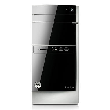 HP Pavilion 500-281 Desktop Computer, Intel Core i3-4130, 4GB Memory, 1TB Hard Drive