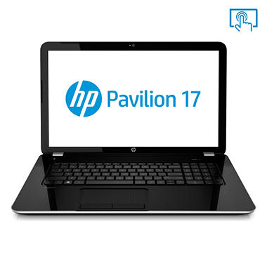 "HP Pavilion 17-e147cl 17.3"" Touchscreen Laptop Computer, AMD A8-5550M, 8GB Memory, 750GB Hard Drive"
