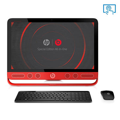 "HP ENVY 23-N010 23"" Touch Desktop Computer, Intel Core i5-4570T, 8GB Memory, 1TB Hard Drive with Beats Audio"