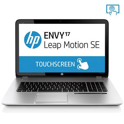 "HP ENVY 17-j127cl 17.3"" Touch Laptop Computer, Intel Core i7-4702QM, 16GB Memory, 1TB Hard Drive with Leap Motion"