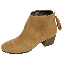 Famous Maker Faux-Suede Ankle Boot
