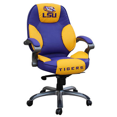 LSU Tigers Leather Chair