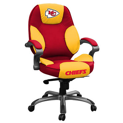 Kansas City Chiefs NFL Leather Chair