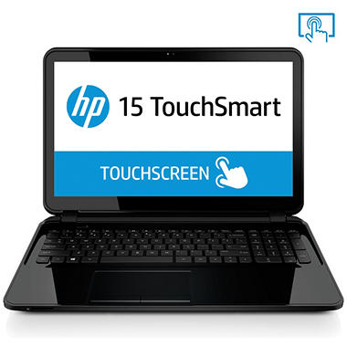 "HP Touch-screen 15.6"" Laptop, AMD A8, 8GB Memory, 750GB Hard Drive with Optical Drive (Various Color Options)*FREE UPGRADE TO WINDOWS 10"