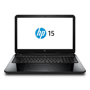 "HP 15-g070nr 15.6"" Laptop Computer, AMD E1-6010, 4GB Memory, 500GB Hard Drive"