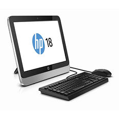 "HP 18-5110, 18.5"" AIO, AMD E1-2500, 4GB Memory, 500GB Hard Drive"