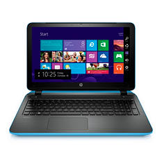 "HP Touch-screen 15.6"" Laptop, Intel i5, 8GB Memory, 1TB Hard Drive with Optical Drive (Various Color Options)"