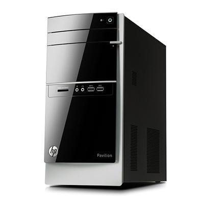 HP Pavilion 500-437c Desktop Computer, AMD Quad-Core A8-6410, 8GB Memory, 1TB Hard Drive