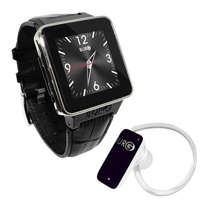 BURG 16A Smartwatch Phone Bundle (Assorted Colors)
