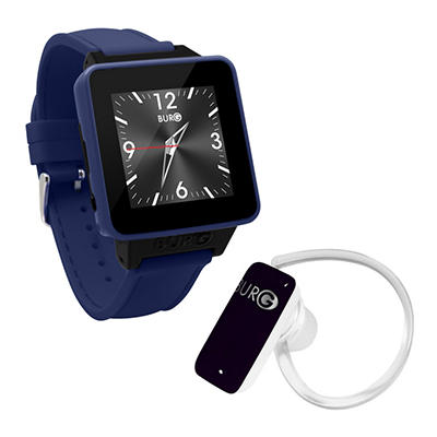 BURG 16A Smartwatch Phone Bundle (Assorted Colors)