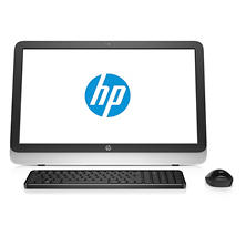 "HP Full HD 23"" All-in-One Computer, AMD Quad Core A6-6310 Processor, 4GB Memory, 1TB Hard Drive, Windows 10, with Wireless Keyboard and Mouse"
