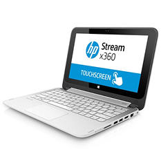 "HP 11.6"" Streambook X360, Intel Celeron N2840, 2GB Memory, 32 GB Hard Drive"