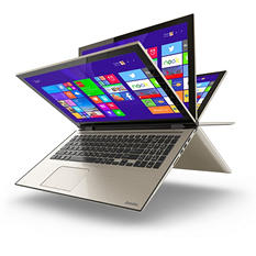 "Toshiba 15.6"" Touch 2in1 Fusion Convertible, Core i5 processor, 8GB Ram, 1TB HDD"