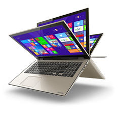 "Toshiba Touchscreen Convertible 15.6"" Notebook L55W-C5256,Intel Core i5-5200U, 8GB RAM, 1TB HDD, Windows 10 Home"