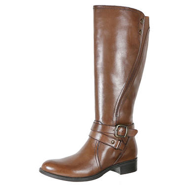 Ladies Full Grain Leather Boot (Assorted Colors)