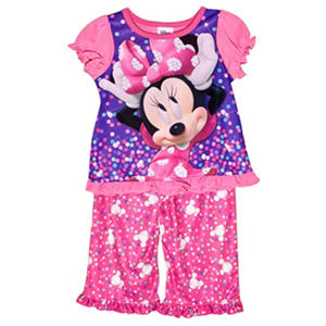 Disney's Minnie Mouse 2-Piece Pajama Set