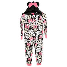 Minnie Mouse Novelty Hooded Blanket Sleeper