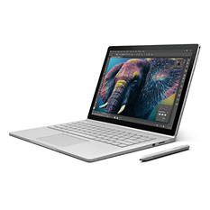 "Microsoft Surface Book Bundle:  13.5"" Touchscreen with Intel Core i7 Processor, 16GB Memory, 512GB SSD Hard Drive, Surface Pen, Surface Dock, Windows 10 Pro"