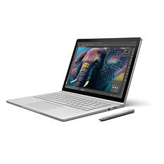 """Surface Book Bundle: Touchscreen 13.5"""" Device with Intel Core i5 Processor, 8GB Memory, 128GB SSD Hard Drive, Surface Pen, Surface Dock"""