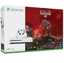 Click here for Xbox One S 1TB Halo Wars 2 Console Bundle prices