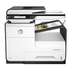 HP PageWide Pro 477dn Multifunction Inkjet Printer, Copy/Fax/Print/Scan
