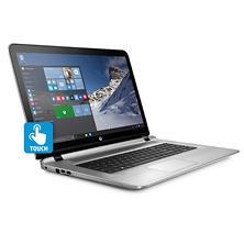 "HP Envy Touchscreen Full HD IPS 17.3"" Notebook 17-s017cl, Intel Core i7-6500U Processor, 16GB Memory, 1TB Hard Drive, Optical Drive, HD Webcam, Backlit Keyboard, Bang & Olufsen Audio, Windows 10"