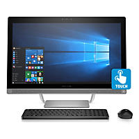 "HP 24"" Full HD IPS All-in-One Desktop 24-b037c, Intel Core i7-6700T Processor, 8GB Memory, 1TB Hard Drive, Wireless Keyboard and Mouse, Windows 10"