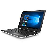"HP Pavilion HD 15.6"" Notebook, Intel Core i7-6500U Processor, 8GB Memory, 1TB Hard Drive, Wide FOV Webcam, Optical Drive, Windows 10, Available in:  Natural Silver 15-au027cl, Modern Gold 15-au037cl"