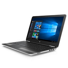 "HP Pavilion HD 15.6"" Notebook, Intel Core i7-6500U Processor, 8GB Memory, 1TB Hard Drive, Wide FOV Webcam, SuperMulti DVD Burner, B&O Play Audio, Windows 10 Home, Available in:  Natural Silver and Modern Gold"