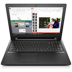 "Lenovo Ideapad 300, 15.6"" Notebook, Intel i7-6500U, 8GB Memory,1TB Hard Drive, with Windows 10"