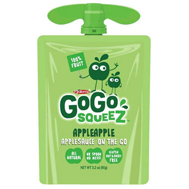 GOGO Squeez Applesauce Pouch (20 ct.) - Sam's Club