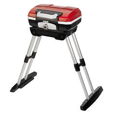 Cuisinart Petit Gourmet Portable Propane Gas Grill with VersaStand