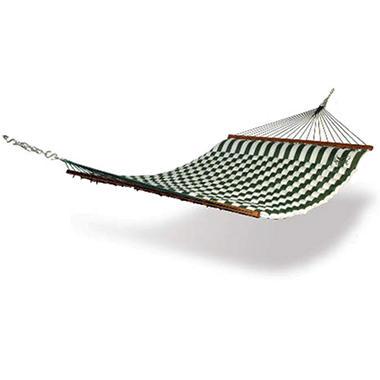 Hammaka Pillow Hammock - Green & White Stripe