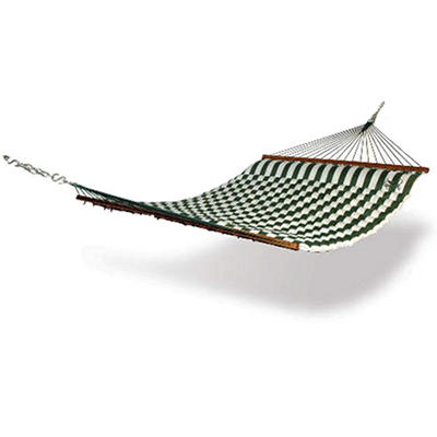 Hammaka Pillow Hammock - Green & White Stripe