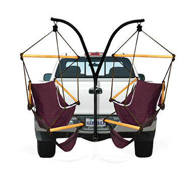 Hammaka Trailer Hitch Stand and Cradle Chairs