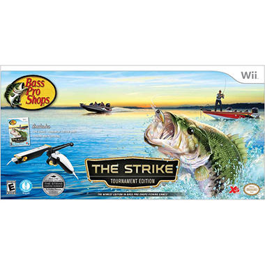 Bass pro shops the strike tournament edition bundle wii for Fish cleaning table bass pro