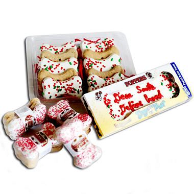 Fopper?s Christmas Dog Treat Gift Set - 23 pc.