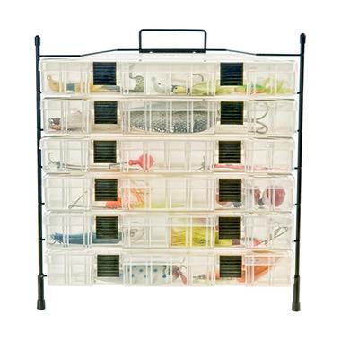 Utility Box Holder Organizer, 6 Capacity
