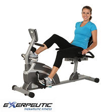 Exerpeutic 900XL High-Capacity Magnetic Recumbent Bike
