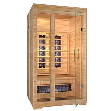 Ironman 2-Person Regal Sauna w/In-floor Radiant