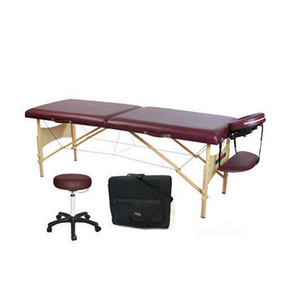"Ironman Monarch Massage Table - 28"" - Carry Case & Stool"
