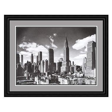 Custom Framed Artwork - Midtown Manhattan