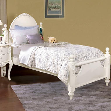 Holly Poster Bed - Twin