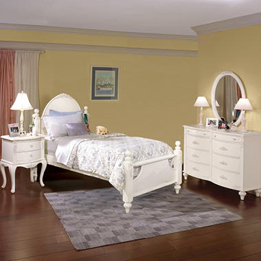 Holly Bedroom Set – Twin - 4 pc.