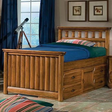 Ridgeland Captain's Storage Bed – Full