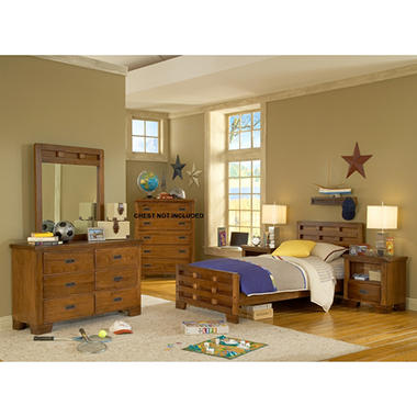 Pace Bedroom Set - Twin - 4pc