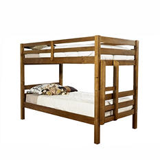 Ridgewood Honey Twin-over-Twin Bunk Bed