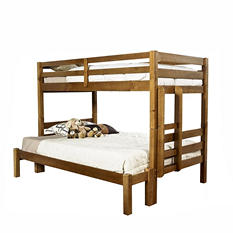 Ridgewood Honey Twin-over-Full Bunk Bed